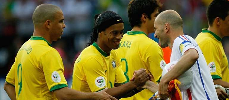 #WorldCupAtHome: Zidane Hits The Heights To Oust Brazil