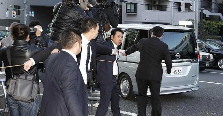 Mandatory credit Kyodo/via REUTERS