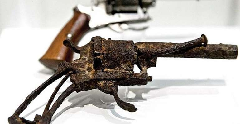 Van Gogh's Suicide Gun To Go Under The Hammer