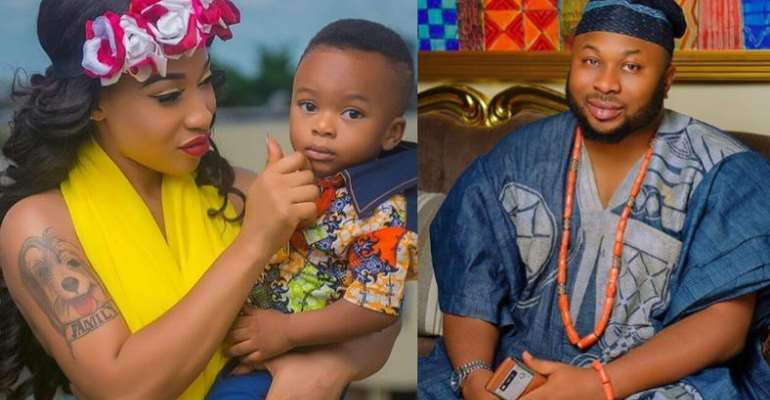 My Son Thinks His Father Is 'Dead'—Tonto Dikeh