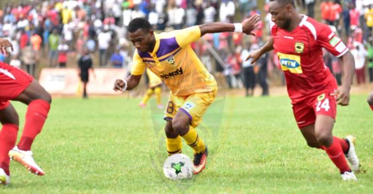 MATCH REPORT: Kwame Boateng On Target As Medeama Beat Kotoko 1-0
