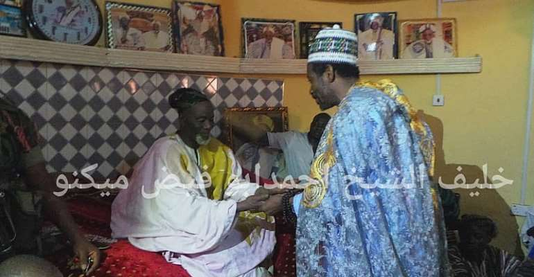 Dagbon Overlord Hosts Sheikh Khalifa In Yendi