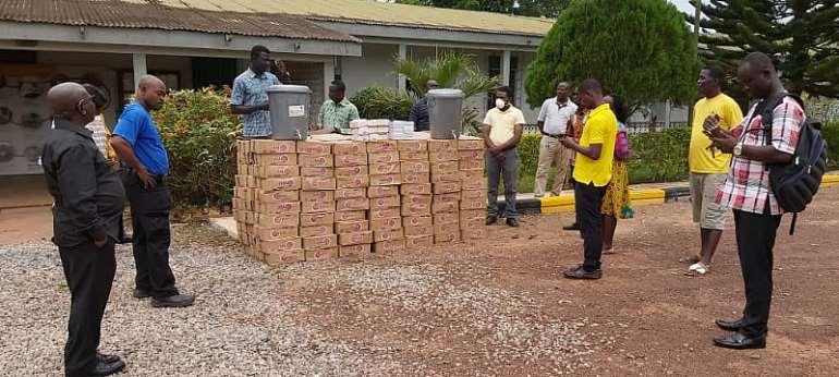 COVID-19: Bensu Oil Palm Plantations Donates Items To Communities
