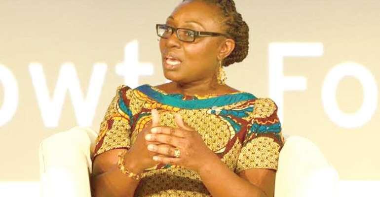 Mrs Mawuena Trebarh, a member of the NDC team
