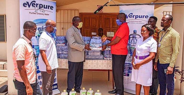 Coronavirus : Everpure Ghana Supports Frontline Service Providers