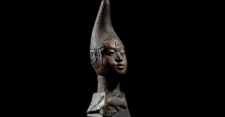 Queen-Mother Idia ,Benin, Nigeria, now in Humboldt Forum ,Berlin, Germany.