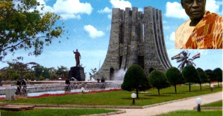 Nkrumah blamed for Ghana's current woes