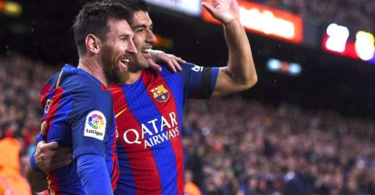 Magical Lionel Messi slays Sevilla to boost Barcelona title hopes