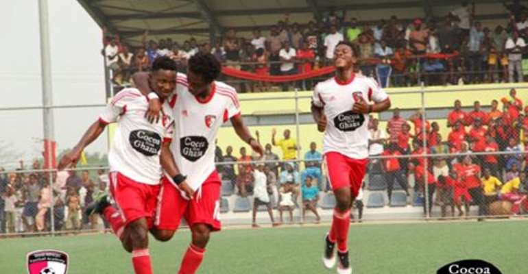 Match Report: WAFA SC 3-0 AshantiGold- Academy Boys stroll to victory to go top of table