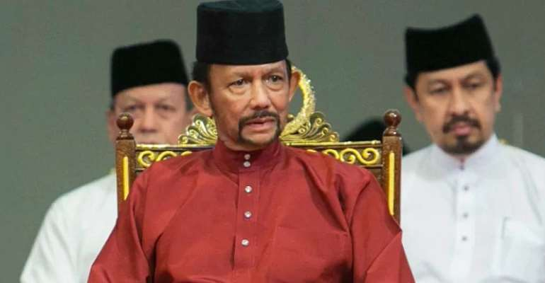Brunei invokes death penalty by stoning for gay sex, adultery