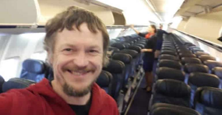 The Man Who Was The Only Passenger On A Boeing 737 Plane