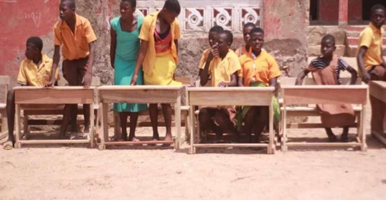Humu Foundation Rescues Bosuoyiri Primary School Pupils