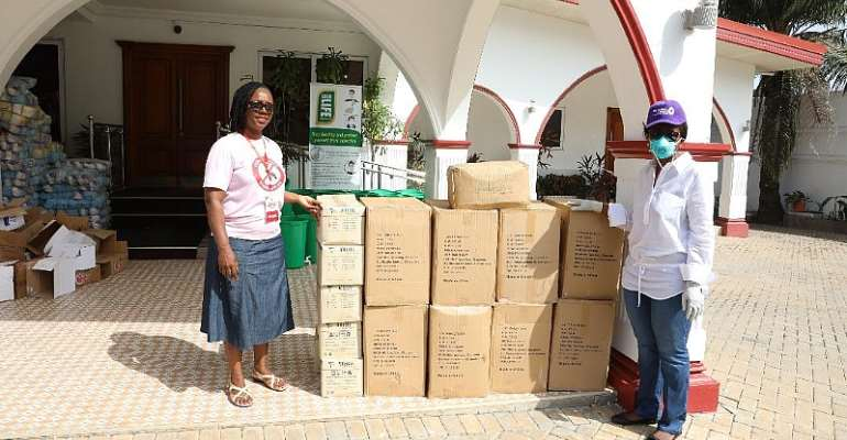 Companies Donate To Rebecca Foundation Relief Boxes Challenge