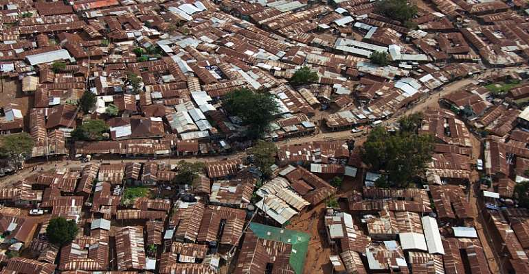 One of Nairobi's low-income areas - Source: Alex Pix/Shutterstock