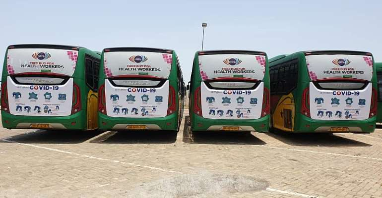 Citi TV's Free Bus Service For Health Workers Kaput