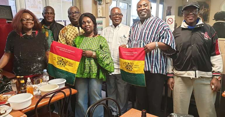 Ghana Celebrated in France