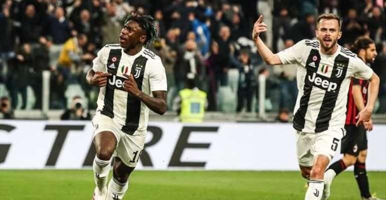 Kean scores winner as Juve come from behind to beat AC Milan