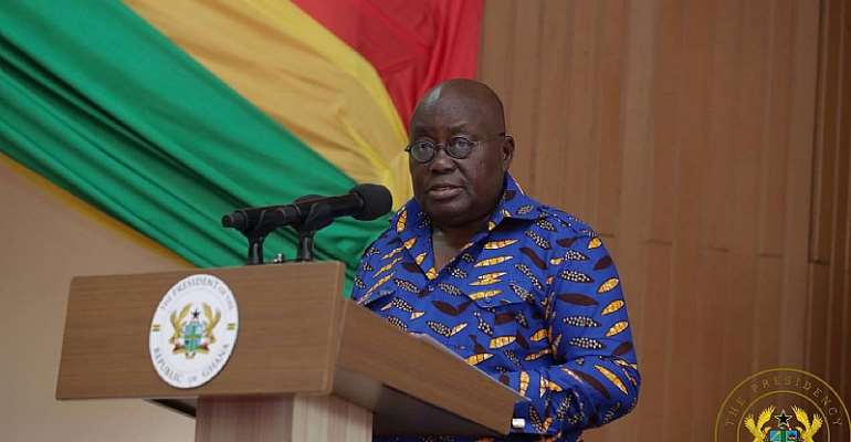 COVID-19: Akufo-Addo Says Security Agencies Will Track Mischief Makers Of Fake Military Videos