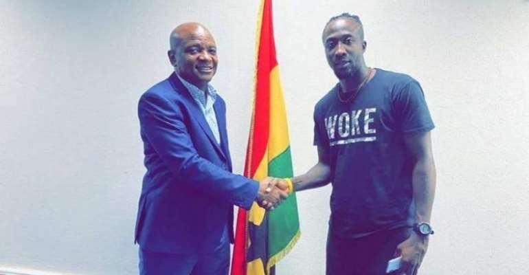 Hearts Of Oak Seal Transfer Of Nigeria Forward Danjuma Kuti