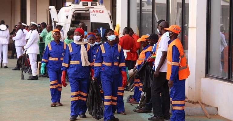 W/R: Zoomlion Abandons Disinfection Exercise Over Confusion
