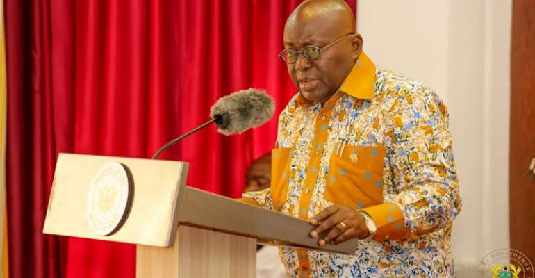 Covid-19: Akufo-Addo Announces 3 months Tax Holiday, Allowances For Health Workers