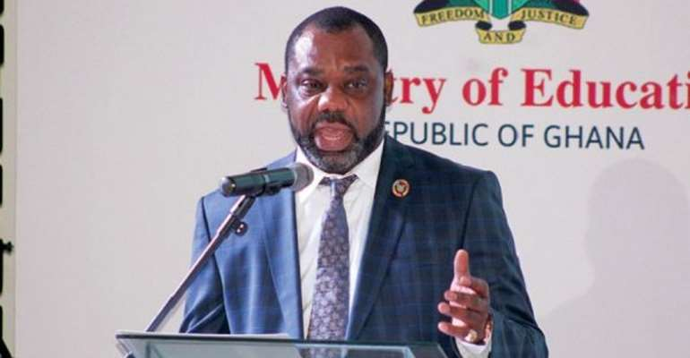 Energy Minister, Mathew Opoku Prempeh