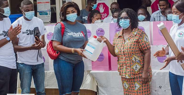 3 Foundation, Apostolic Empowerment Ministries donate to Korle Bu Child Health Department