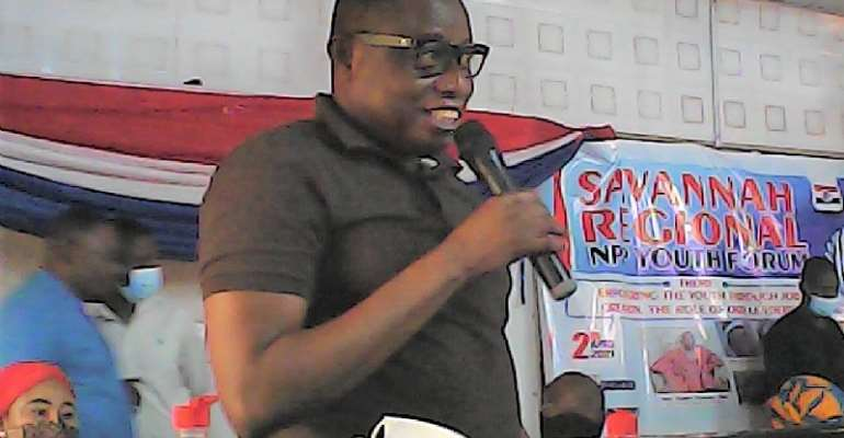 Savannah Region: Minister assures NPP Party footsoldiers of jobs