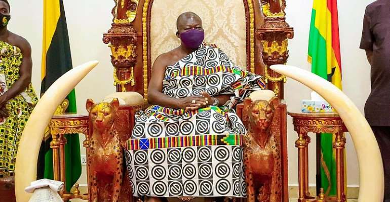 Airport Company workers agitation: If the MD has embezzled funds, we should sack him — Says Otumfuo as he demands investigation