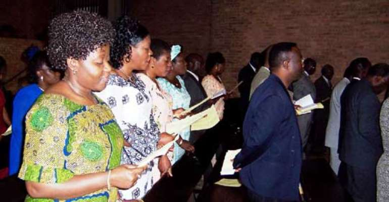 Africans bring their churches to U.S.