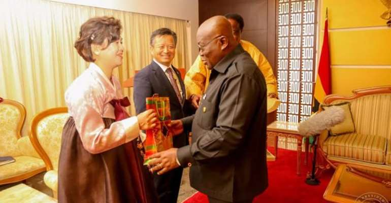 President Akufo-Addo advocates growth in Ghana-Korea relations