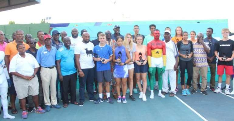 France's Bondaz And Han Shi Of China Win ITF World Junior Circuit Accra Open