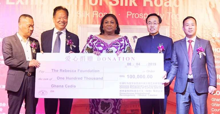 Rebecca Foundation Gets 100k Support FromChinese