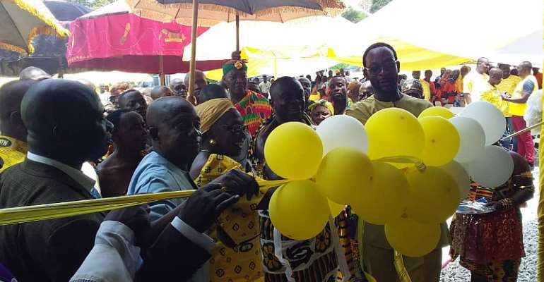 MTN Commissions Modern Oil Palm Processing Plant In Juaso