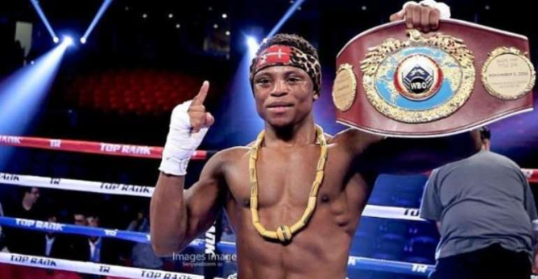 Isaac Dogboe Aims To Move Up Weight