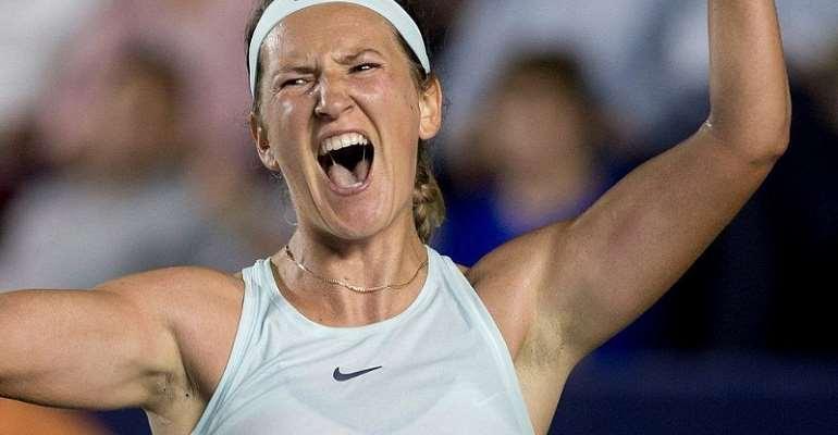 Azarenka Beats Kerber To Reach First Singles Final For Three Years