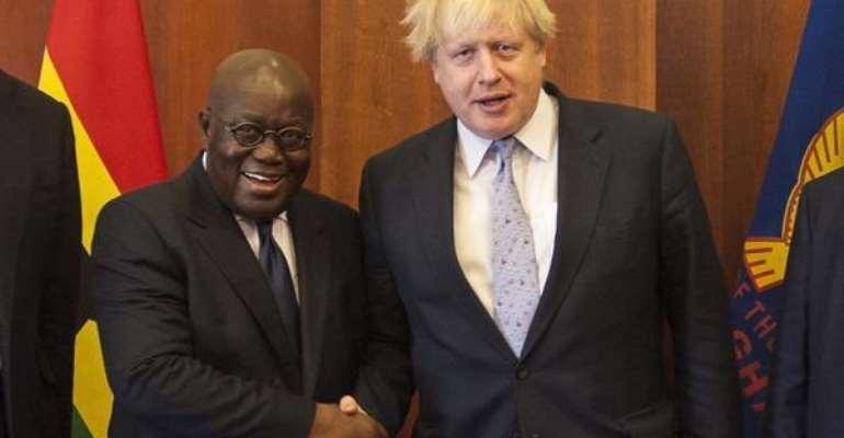 COVID-19: Akufo-Addo Wishes Boris Johnson 'Speedy Recovery'