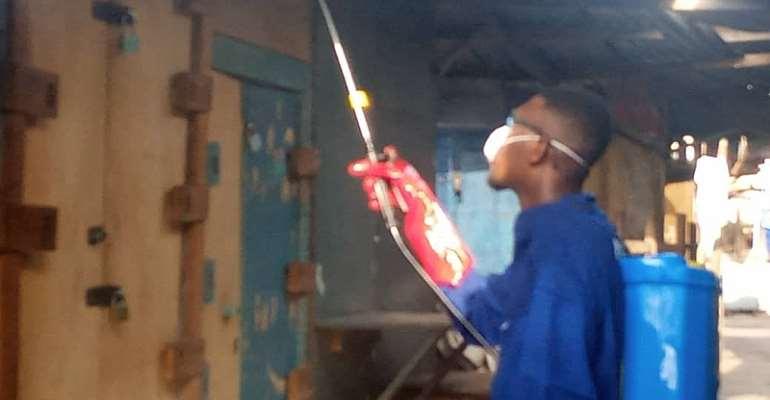 V/R: 75 Volta Markets Disinfected