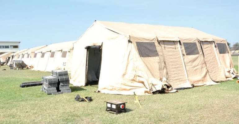 Military Deploys Mobile Hospital To Support COVID-19 Response