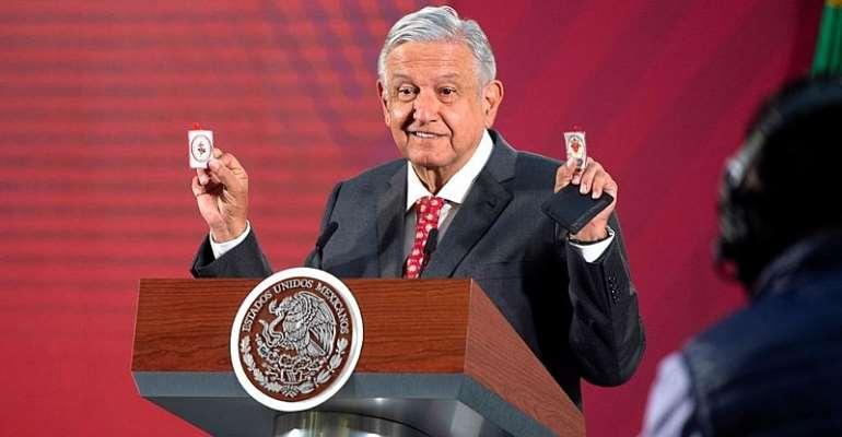 MEXICO'S PRESIDENCY via REUTERS - MEXICO'S PRESIDENCY