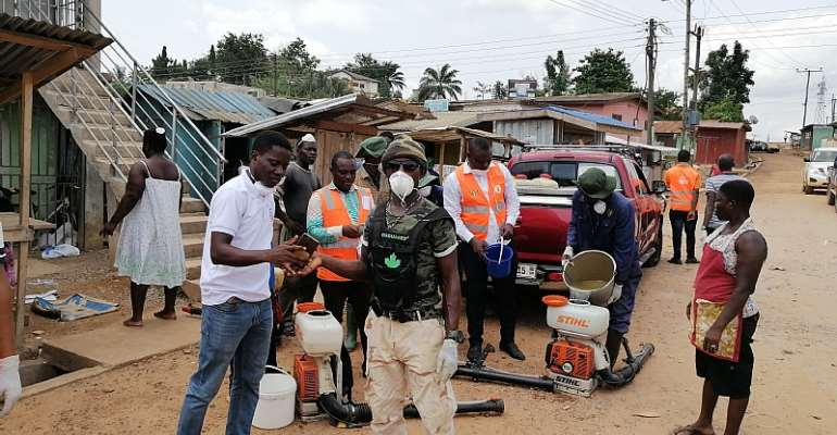 Fumigation Exercise Takes Off In Tarkwa Markets And Lorry Stations