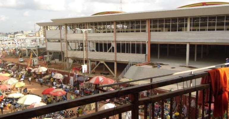 Covid-19 Lockdown: Kumasi Central Market Closed Down Over Social Distancing Issues
