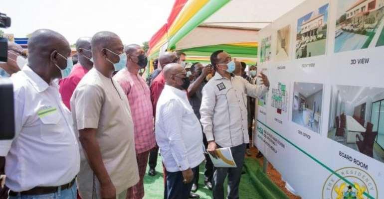 Akufo-Addo breaks ground for construction of Ghana Award House