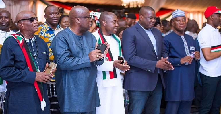 NDC New Leadership For 2024 - Look out for unwavering courage, spotless integrity and deliverable competence