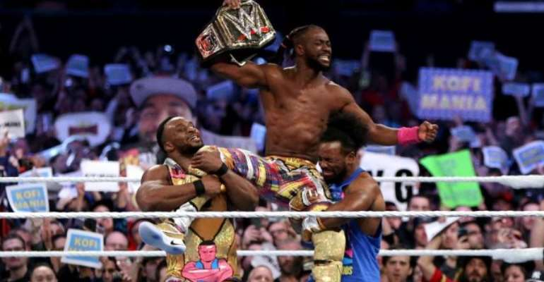Kofi Kingston Becomes Second African American To Win WWE Title