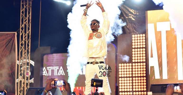 Over 15,000 Music Fans Stormed VGMA Nominees Jam in Kumasi