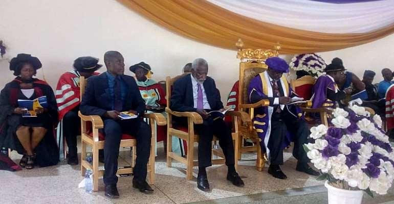 District Chief Executive for Gomoa Central, Hon. Benjamin Kojo Otoo