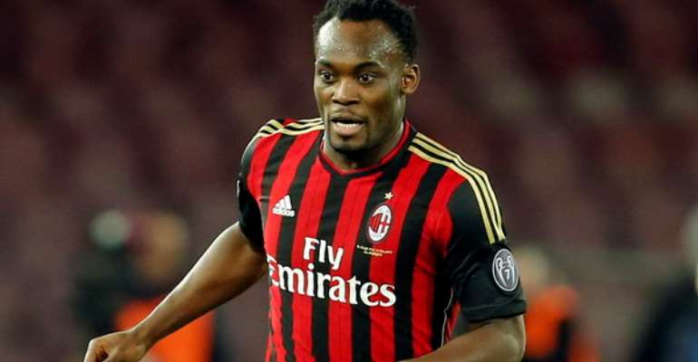 Osei Kuffour And Michael Essien Named Among Top African XI Stars Who Played In Italian Serie A