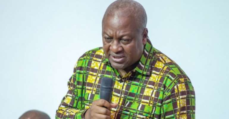 COVID-19: Mr. Mahama reconcile your efforts with government for the collective good of Ghana.
