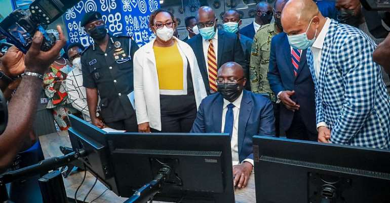 Bawumia launches NPA's Digital Retail Outlet Fuel Monitoring System